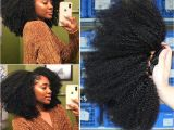 4c Hair 20 Inches Mongolian Afro Kinky Curly Hair Weave 4b 4c Natural Black