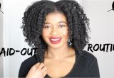4c Hairstyles Braids My Braid Out Routine