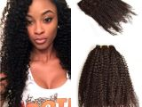 4c Hairstyles with Extensions Malaysian Human Hair Afro Kinky Curly Clip Ins Extension 4b 4c Kinky