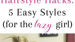 5 Cute and Easy Hairstyles for School Hairstyle Hacks 5 Easy Styles Braids