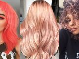 5 Cute Winter Hairstyles 13 Prettiest Spring Hair Colors 2019 New Hair Dye Trends for Spring