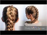 5 Easy Hairstyles for School Youtube How to Dutch Braid Hair Tutorial 🙌🙌❤