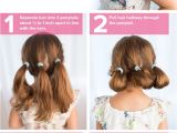 5 Easy Hairstyles for Thick Hair 5 Fast Easy Cute Hairstyles for Girls Back to School