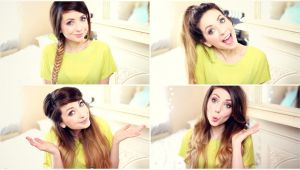5 Easy Hairstyles Zoella How to My Quick and Easy Hairstyles