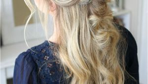 5 Minute Down Hairstyles Twists and topsy Tail Flips Hair and Beauty