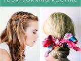5 Minute Easy Hairstyles for School 25 5 Minute Hairdos that Will Transform Your Morning