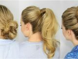 5 Minute Easy Hairstyles for School 3 Easy 5 Minute Hairstyles