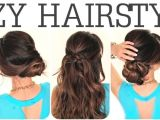 5 Minute Easy Hairstyles for School 6 Easy Lazy Hairstyles
