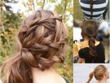 5 Minute Hairstyles for School Pinterest 5 E Minute Basic Ponytail Hairstyles Tutorial for Daily Style