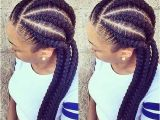 6 Braid Hairstyle 25 Afro Hairstyles with Braids