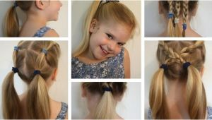 6 Easy Hairstyles for School Looking for some Quick Kids Hairstyle Ideas Here are 6 Easy