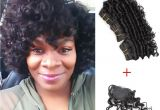 8 Inch Bob Hairstyles Kiss Hair 8 Inch Deep Wave Unprocessed Virgin Remy Human Hair Weave
