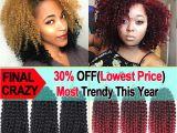 8 Inches Curly Hairstyles 8 Inch Krullend Haak Haar Bohemian Gehaakte Vlechten Krullend