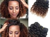 8 Inches Curly Hairstyles Brown Human Hair Extensions Kinky Curly Weave 6 Bundles 8 Inch Bob