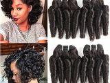 8 Inches Curly Hairstyles Molefi Brazilian Funmi Hair Loose Wave 4 Bundles Spiral Curl Hair