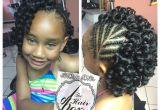 8 Year Old Black Girl Hairstyles Crochet Braids for Little Girls Braids Pinterest