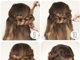 9 Quick and Easy Hairstyles Nice 9 Step by Step Hairstyles Perfect for School Quick Easy Cute