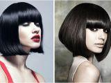 A Line Bob Haircut with Bangs Bob Haircuts for 2014