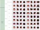 Acnl Haircut Colors Animal Cute Crossing Animalcute On Pinterest