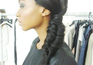 African American Fishtail Braids Hairstyles How to Do A Fishtail Braid On the Side Step by Step