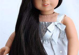 American Girl Doll Hairstyles for Long Hair Custom American Girl Doll Hazel Green Eyes Medium Skin Long