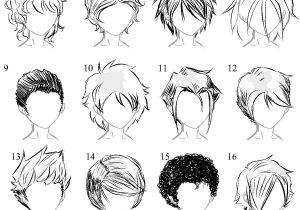 Anime Boy Hairstyles Drawings Pin by Blondepanda On Hair Refs