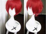 Anime Hairstyle Wig Anime assassination Classroom Karma Akabane Short Red Cosplay Hair