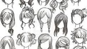 Anime Hairstyles Female Step by Step How to Draw Anime Hair Step by Step for Beginners Google Search