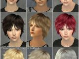 Anime Hairstyles Sims 3 Mod the Sims Coolsims Male Hair 27 Peggy Free Hair Newsea