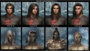 Anime Hairstyles Skyrim Mod Apachiiskyhair at Skyrim Nexus Mods and Munity