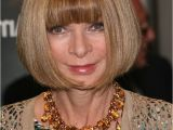 Anna Wintour Bob Haircut Anna Wintour Wearing Her Hair In A Bob that is Curved