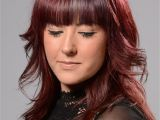 Art Student Hairstyles Fringes are Bang On Trend This Winter Coloured Cut and Styled by