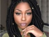 Artificial Dreadlocks Hairstyles In Nigeria 45 Short Faux Locs Styles Natural Beauty Pinterest