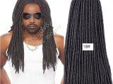 Artificial Dreadlocks Hairstyles In Nigeria Großhandel soft Dreadlocs Crochet Zöpfe 16 Zoll 24 Wurzeln Dreadlock