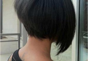 Asymmetrical Bob Haircut Back View 35 Short Stacked Bob Hairstyles