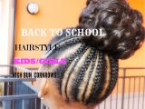Back to School Hairstyles for Black Girls Back to School Hairstyle for Kids Girls Simple and Cute 1