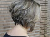 Back View Of Stacked Bob Haircut 20 Popular Messy Bob Haircuts We Love Popular Haircuts