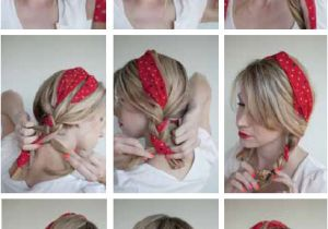 Bandana Hairstyles Hair Down 16 Beautiful Hairstyles with Scarf and Bandanna
