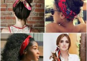 Bandana Hairstyles Hair Down 61 Best Retro Hair Scarves Images