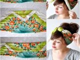 Bandana Hairstyles with Hair Up 14 Tutorials for Bandana Hairstyles Hairstyles Pinterest