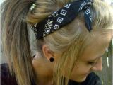 Bandana Hairstyles with Hair Up Nonchalant H¥r Pinterest