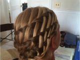 Basket Braids Hairstyles Flirty Side Bun Hat Sleek Basket Weave Braid Style