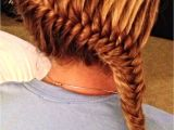 Basketball Hairstyles for Girls French Fishtail Sporty Hairstyles Pinterest