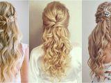 Beach Wavy Wedding Hairstyles 30 Must See Half Up Beach Wave Bridal Hairstyles to