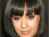 Black Bob Haircuts with Bangs African American Women Hairstyles with Bangs
