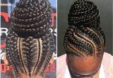 Black Braided Bun Hairstyles Braided Bun Black Natural Hairstyles In 2018 Pinterest
