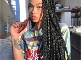 Black Braided Hairstyles with Weave 9 Hairstyles Anyone with Box Braids Needs to Try Hair