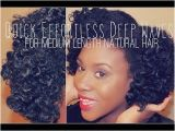 Black Curly Hairstyles Youtube ▷ Quick Effortless Deep Waves Tutorial for Medium Length Natural
