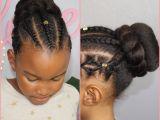 Black Girl Buns Hairstyles Bun and Braids N A T U R A L K I D S Pinterest