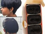 Black Hairstyles 27 Piece Weave Free Shipping 27 Pieces Short Hair Weave with Free Closure 27 Piece